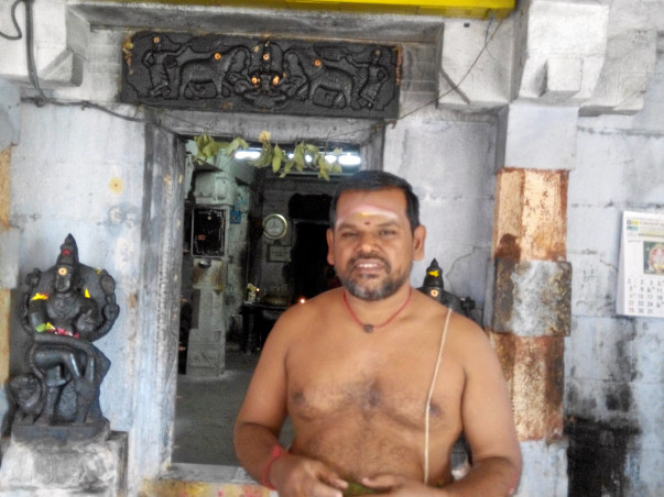 Help a poor sivan temple  purohithar
