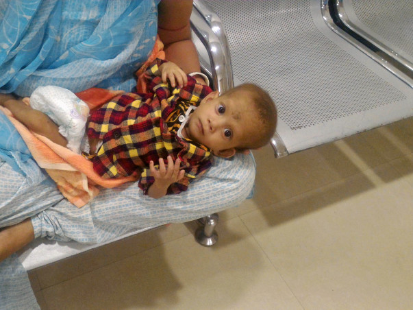 Help 8 month old baby Sahinur undergo an Open Heart surgery