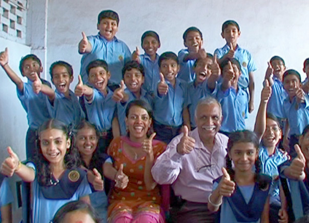 I am fundraising to educate1000 underprivileged kids to realize their full potential-Be the Change