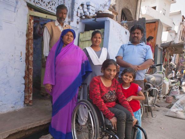 Help Us Donate Wheelchair to the Needy
