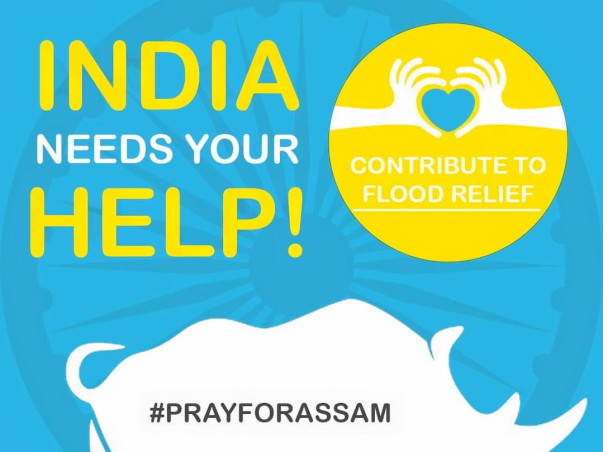 Help Us Provide Relief in Assam