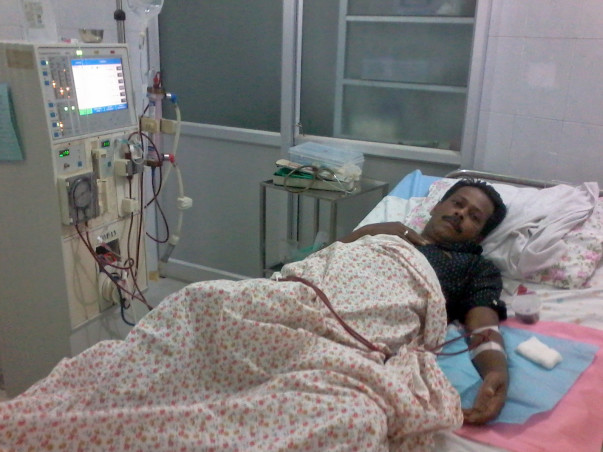 Help Shafeek Undergo Haemodialysis