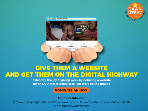 Give them a website ... and get them on the Digital highway