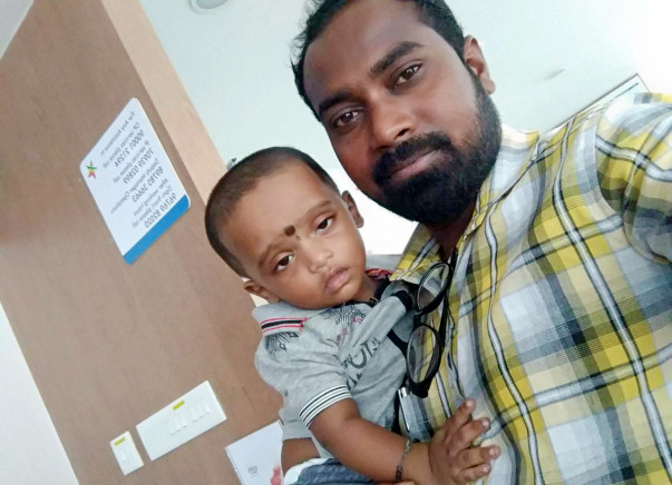 Help 11-Month-Old Akshay Live A Better Life