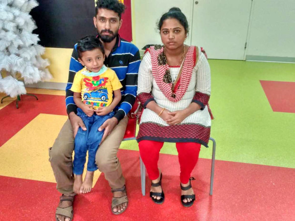 Help 3-year-old Preetham fight a tumor in his liver