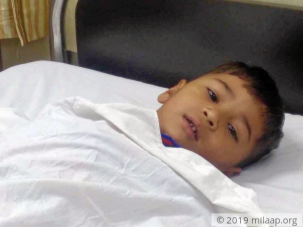 Father Can't Be With His Sick Son, Struggling To Fund The Treatment
