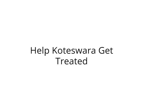 Help Koteswara Get Treated for Acute Portal Veins