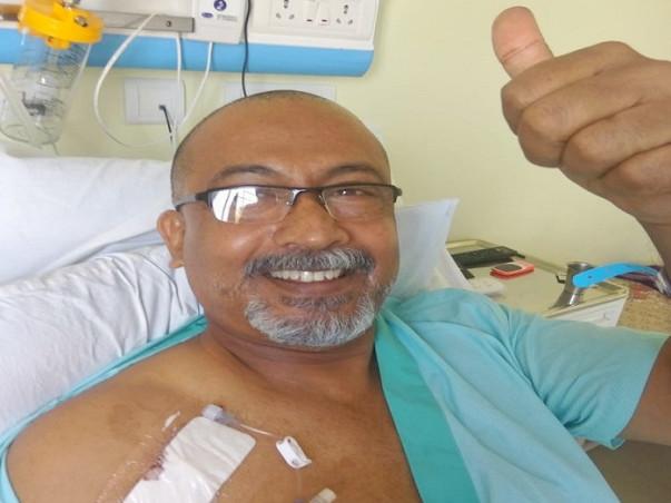 Help Kurian Thomas to fight Cancer
