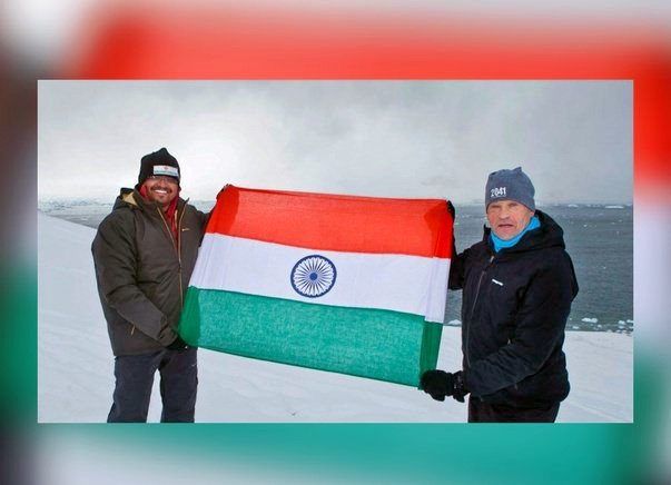 Help Sunil Represent India at World's First Green SouthPole Expedition