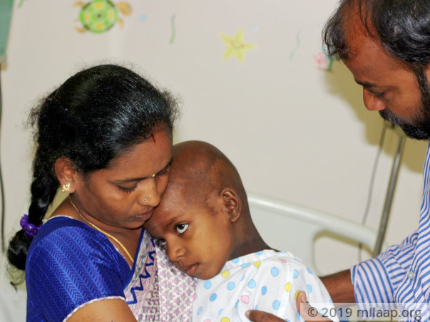 Help little Pallavi who is dying of pain from brain tumor