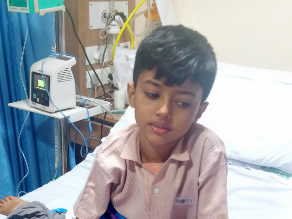 Help 6-year-old Kshitij Singh Tomar Fight Against Cancer