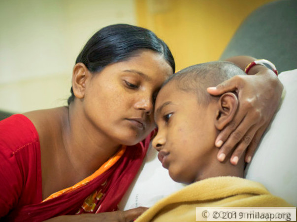 Save this 10-year-old who thinks he will die of brain tumor
