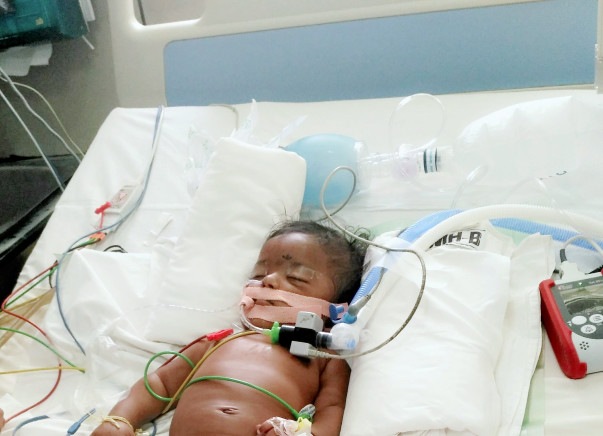 Help this father save his 4-month-old baby!