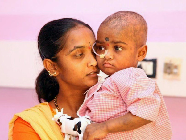 4-year-old Reddy raj has been fighting cancer for far too long