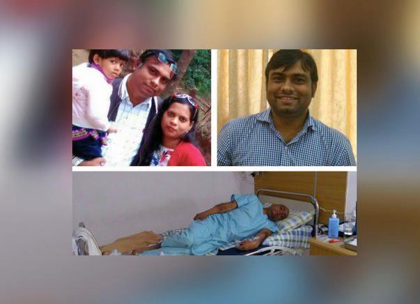 Help Upendra Maurya Fight Blood Cancer