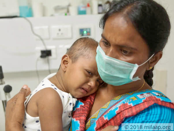 Hyderabad Constable Fights To Save 2-year-old Daughter From Cancer