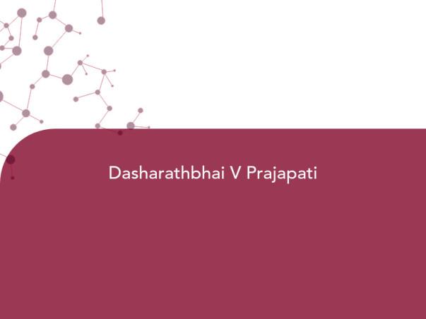Dasharathbhai V Prajapati