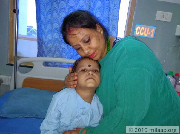 Help 3-year-old Gunjan get a life-saving heart surgery