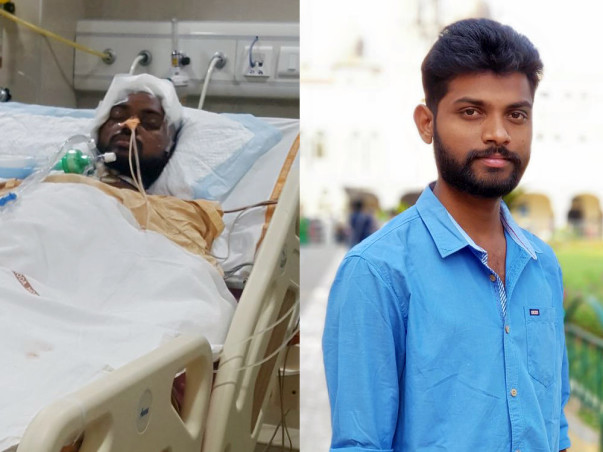 Help Vinayak, an engineering student fighting for his life.