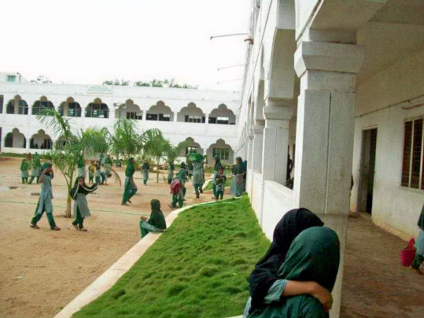 Sanitary Pads Manufacturing at Ayesha Girls High School, Kadapa