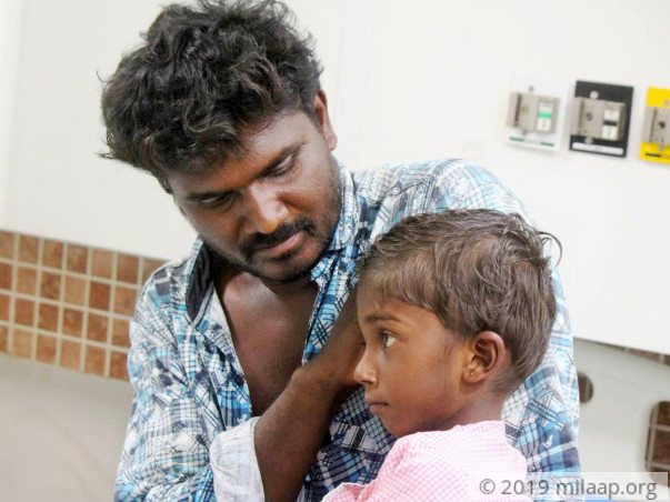 5-year old Hemanth's Stomach Bloat Could Kill Him Without Surgery