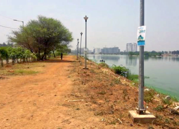 Bengaluru Marathon: Rachenahalli Lake needs further improvement