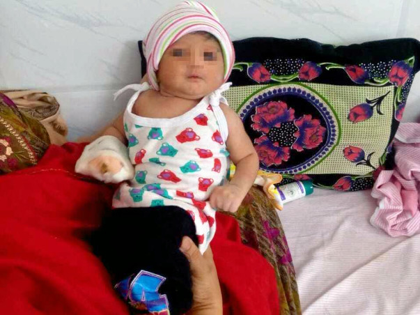 40 day Girl Baby With Cardiac Problem Needs Your Help