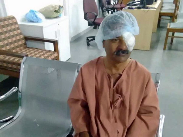 Help Madan Survive through Severe Tuberculosis Tumour in the Eye