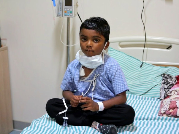 Help This 5-Year-Old Rihan Beat Cancer For The Second Time