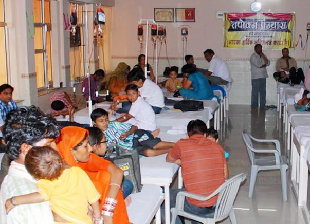 I am running the Bengaluru marathon to build a Thalassaemia day care centre in Mumbai!