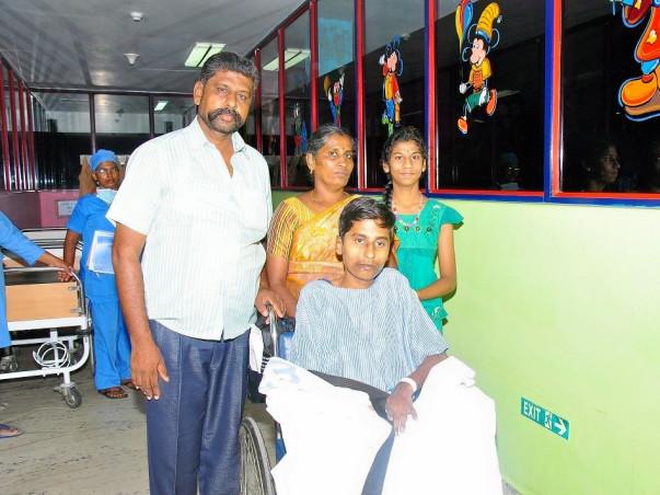 Help GokulaPriyan get a new heart