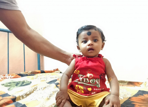 Help 5-Month-old  Sayani Fight Cancer