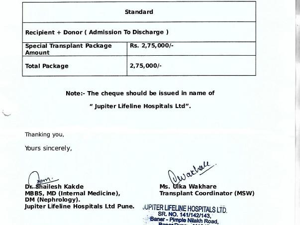 Help Vijay Undergo Kidney Transplant