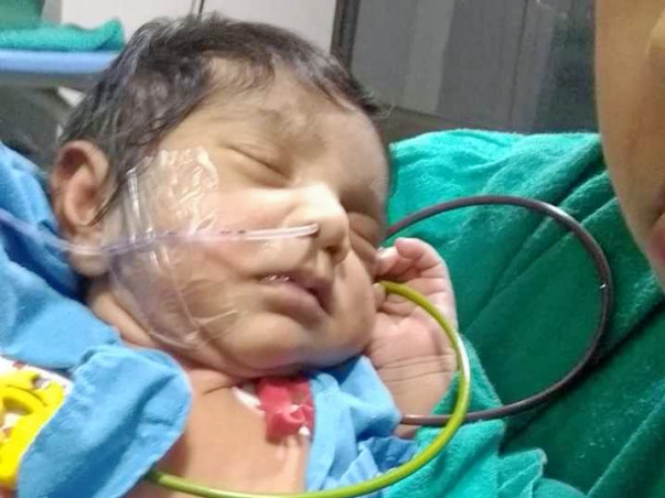 Help My 2 Month Old Baby Undergo Heart Operation