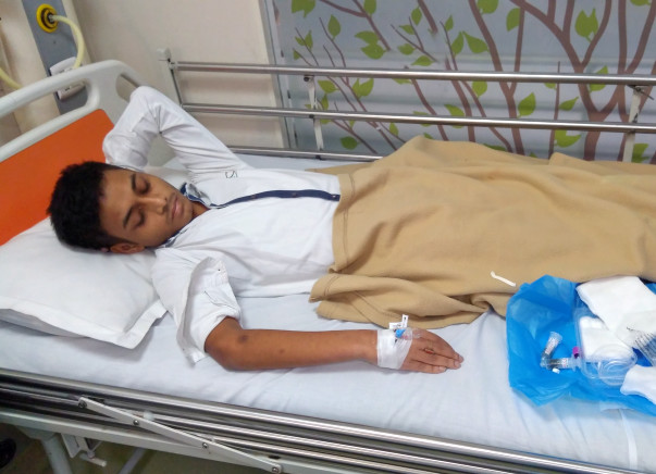 17-year-old Abinash urgently needs to undergo heart surgery to survive