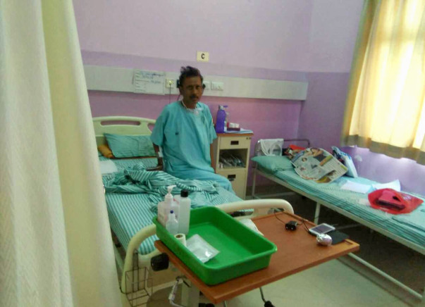46-year-old Shivaputrappa suffers from blood cancer and he needs BMT