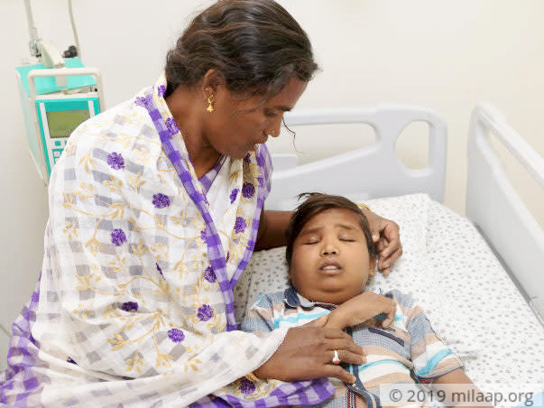 This teenage boy's body will continue to swell up without treatment