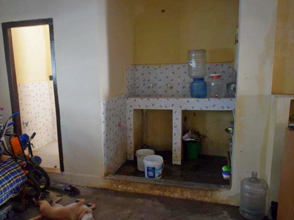 Help these children to get  sanitation facilities and a proper floor !