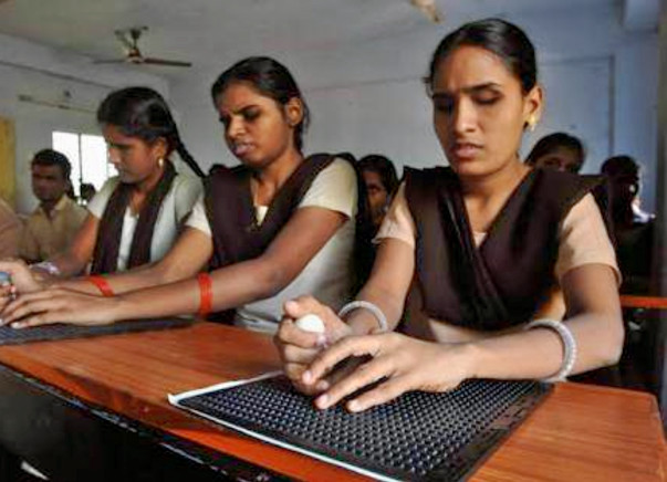Barrier Free Education For The Visually Impaired