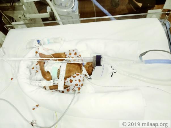 Help Premlata save her new born baby boy
