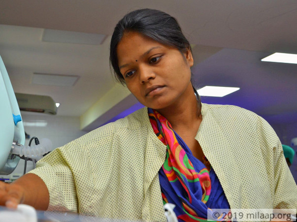 Baby of Ramadevi needs your help to survive