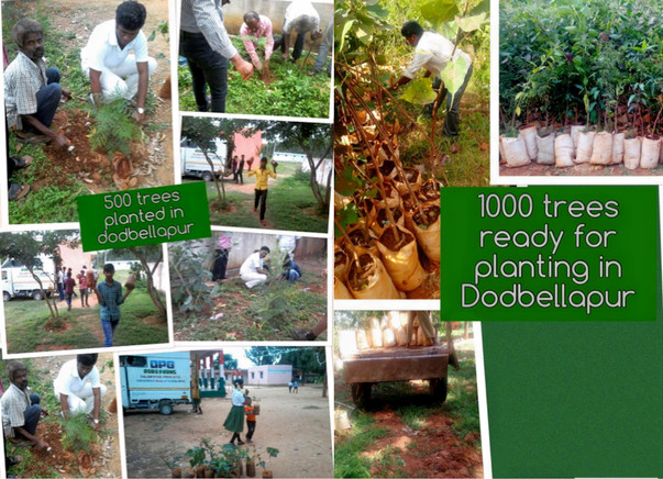 #BeBoldForChange. Join me in planting 15,000 trees across Bangalore