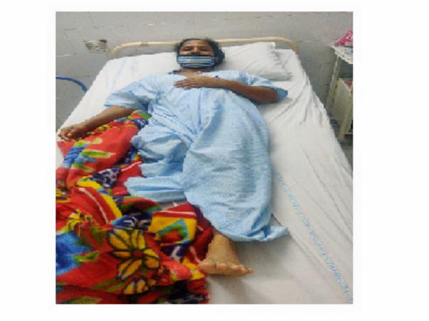Support E S Vijaya Recover From Deep Vein Thrombosis