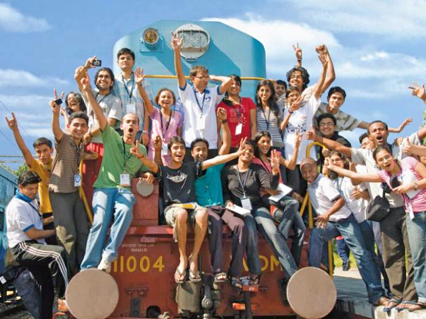 I am fundraising to help me board the train - Jagriti Yatra
