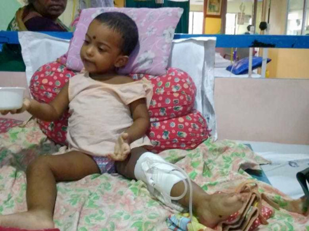 Help Nilasha Fight Cancer And Get Back A Healthy Smile