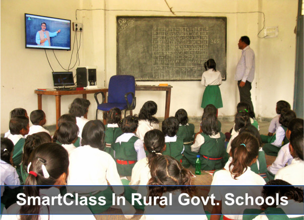 Bringing Smart Classes to 15 Govt Schools in Dist. Singrauli, MP