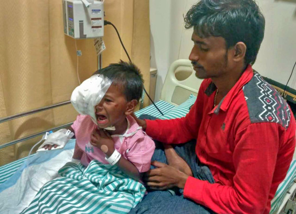 Help This Farmer Save His 4-year-old Daughter From Eye Cancer