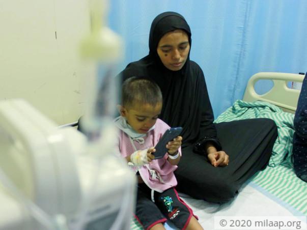 Baby Tasbiha Aimen needs your help