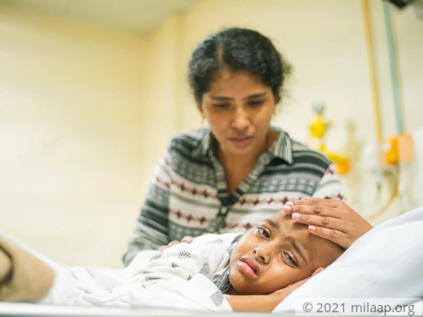 Even Heavy Doses Of Chemotherapy Aren't Enough To Save This 7-Year-Old