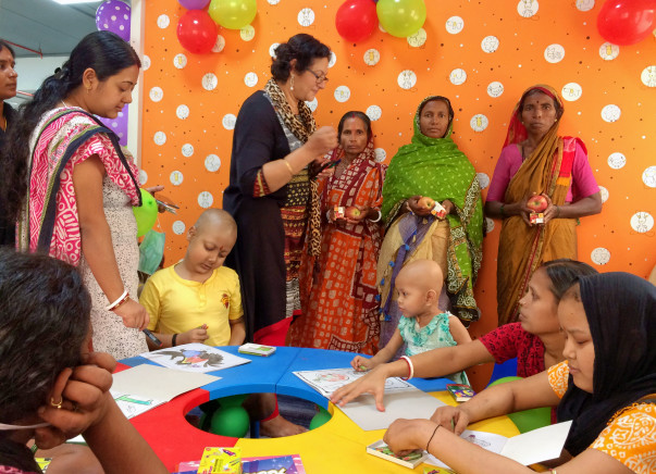 Cancer Treatment for poor kids and cancer Awareness
